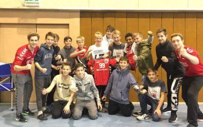 C-Jugend gewinnt in Halle Mittelstadt