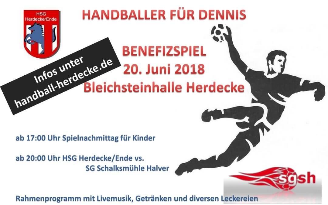 Handballer für Dennis
