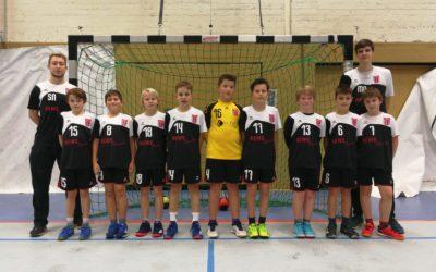 D-Jugend 1 gegen D-Jugend 2 – das Trainerduell