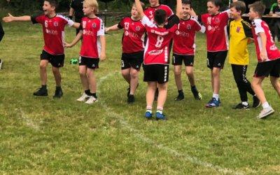 Starker 3. Platz der D-Jugend bei den Husen-Kurler Handballtagen