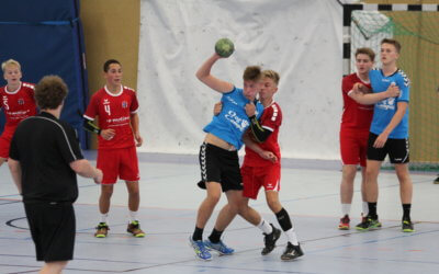 B-Jugend gewinnt umkämpftes und knappes Spiel!