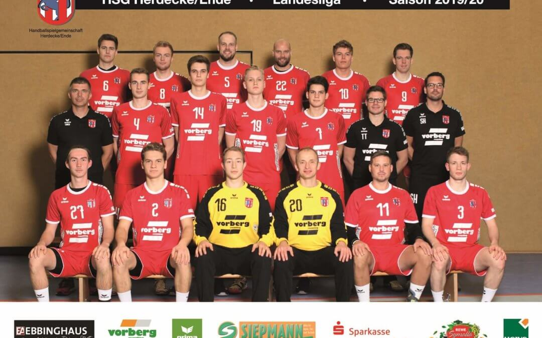 HSG_Mannschaft_Landesliga 2019-20