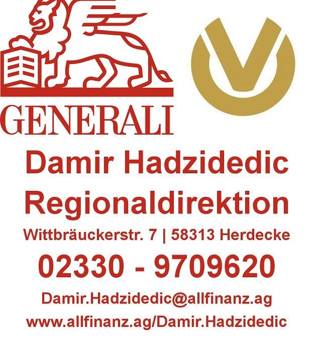 Wir danken: Damir Hadzidedic, Generali Versicherung
