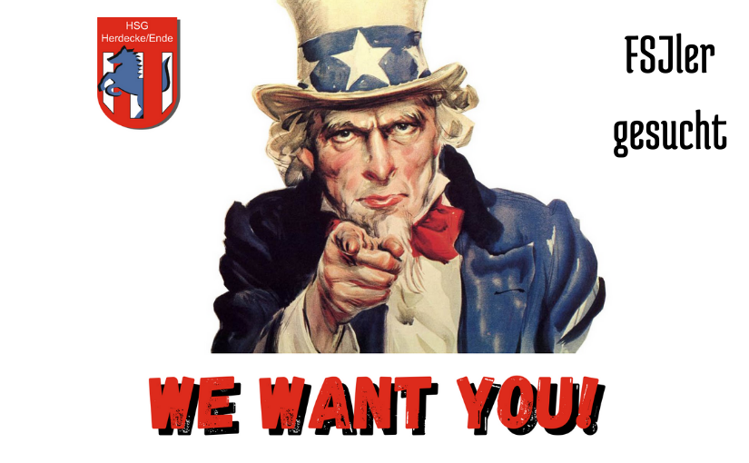 Wir suchen einen neuen FSJler!