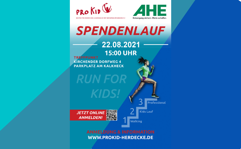 Pro Kid e.V./AHE-Spendenlauf am 22.08.21