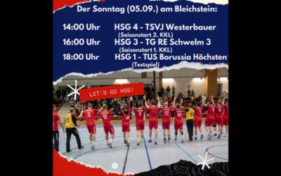 Viel Handball am Sonntag!